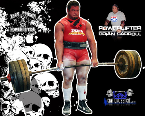 Interview With Powerlifter Brian Carroll of Team Samson