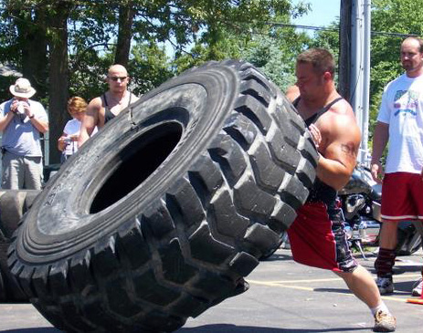 Strongman Bryan Beaune