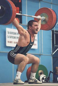 bulgarian weightlifting