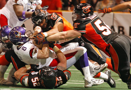 AFL football - Chris Janek - Utah Blaze