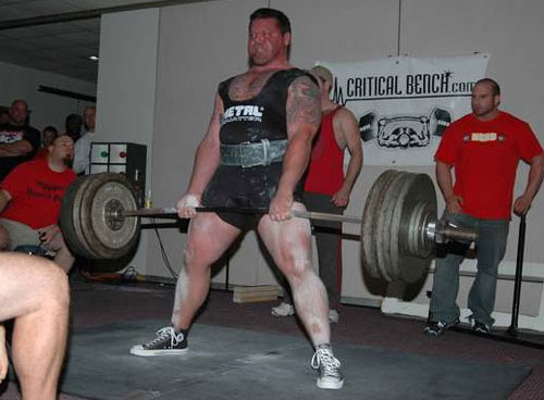 Chris Janek AFL Totals Elite at First Powerlifting Meet