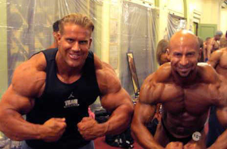 Craig Miles and Jay Cutler