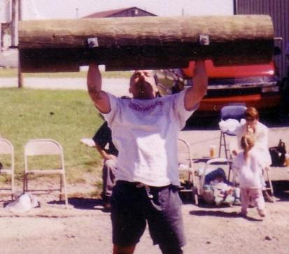Daniel Connor in Strongman Event