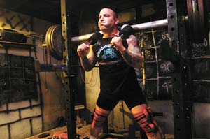Powerlifter Strongman Daniel Connor