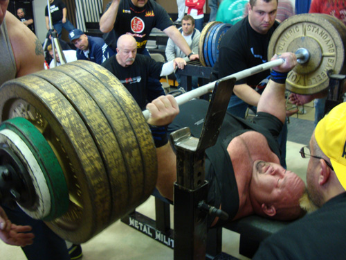 Donnie Thompson hits biggest total in powerlifting history