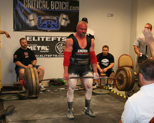 Adam Driggers Pulling Big At the Orlando Barbell APF Classic