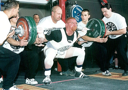Powerlifting champion Eric Maroscher