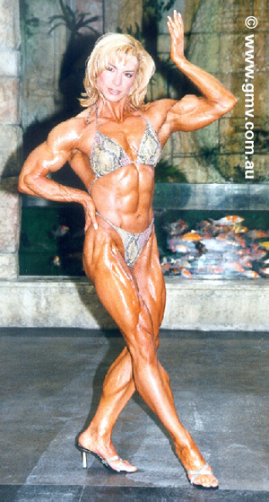 Female Bodybuilder Valentina Chepiga