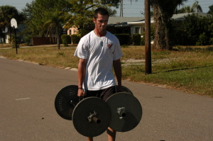 Football Players Should Train Like Strongmen