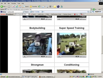 Football Strength Training Exercise Database