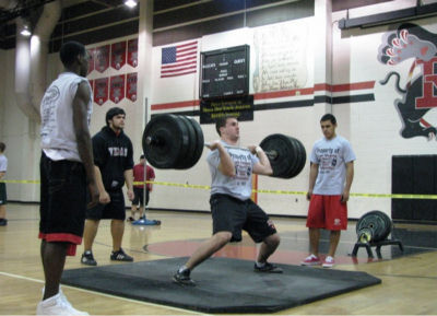To Find The Perfect Form For Power Cleans