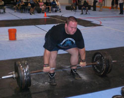 Strongman competitor Gavin Westenburger's favorite strongman event is the deadlift