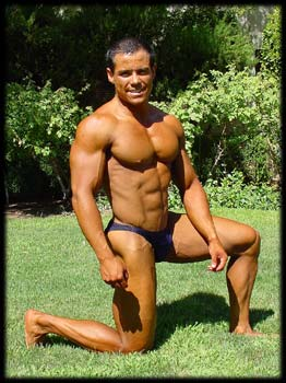 Bodybuilder Guillermo Escalante
