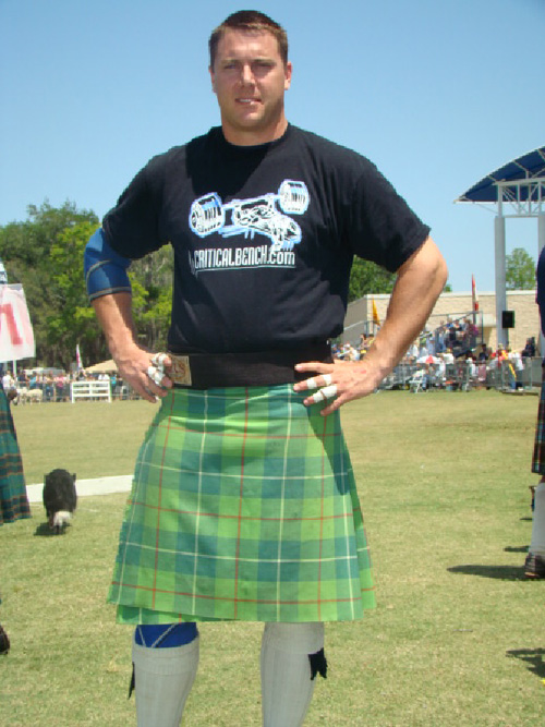 Scott Grimm Highland Games in Dunedin FL
