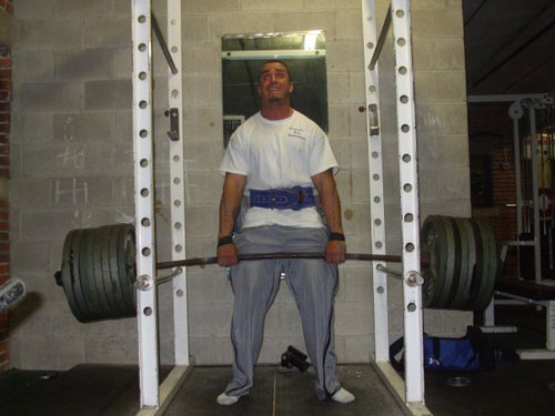 Interview With Powerlifter David Delisle
