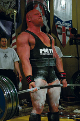 Interview with Powerlifter Luke Edwards