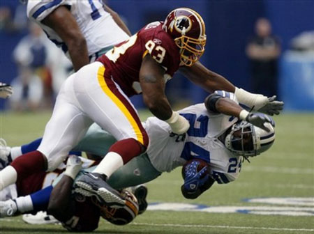 Interview With Washington Redskins DE Phillip Daniels