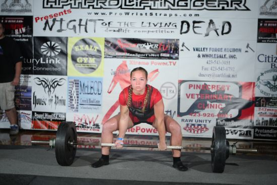 Interview With Powerlifter Natalie Freed
