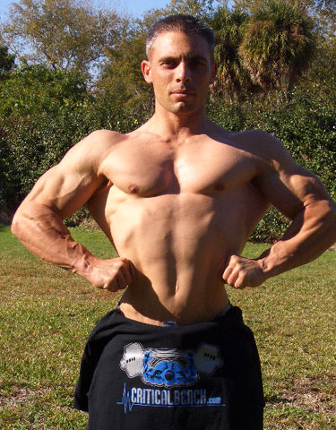 Natural Bodybuilder Ivan Nikolov