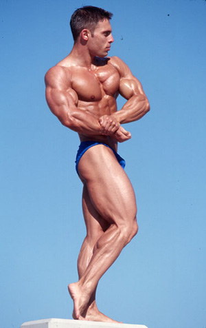Bulgarian natural  bodybuilder Ivan Nikolov