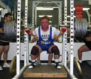 Jack Reape With a Big Squat