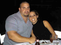 Joey and His Wife Amy DeGiovine