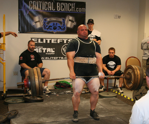 Joe DeGiovine Pulling Big at the Orlando Barbell APF Classic