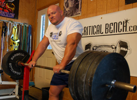 Powerlifter and Critical Bench Supporter Joey Smith