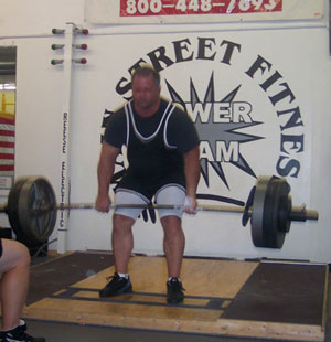 John Burkhead Deadlift