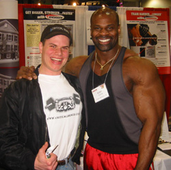 Bodybuilder Kenny Gipson