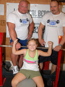 Kids weight training how soon?