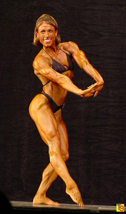 Lady Body Builder.....Good Fitness