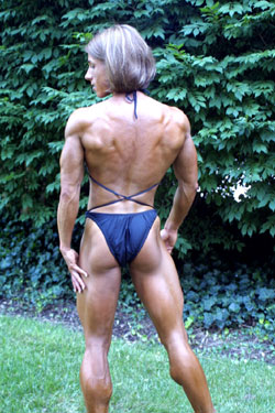 Bodybuilder and Powerlifter Laura Phelps