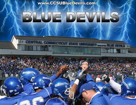 CCSU Football - GO Blue Devils!