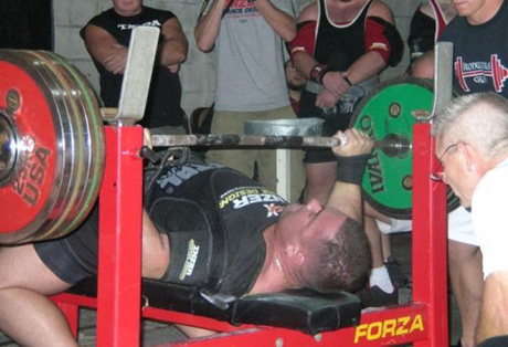 Mike Schwanke Benching a 626 Opener
