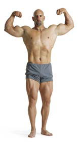 most muscles in 30 days