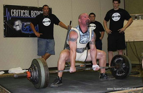 Tony pulls big at the Orlando Barbell Classic