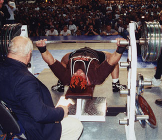 powerlifting bench press