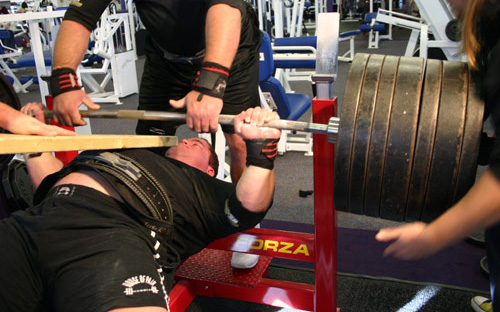 powerlifting and bench press hall of fame rankings records