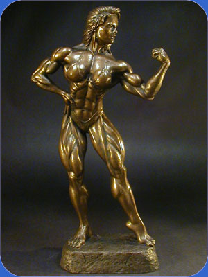 bodybuilding sculpture