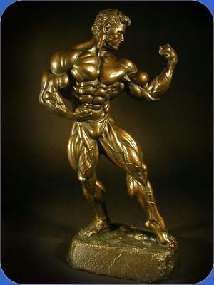 bodybuilding figurine
