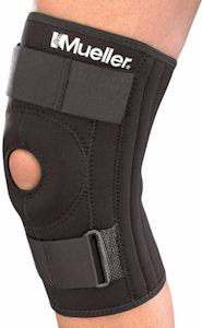 Mueller Hinged Knee Brace - Patella stabilizer