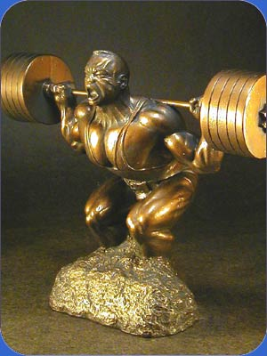 powerlifting squat trophy