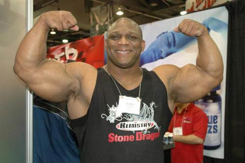 Quincy Taylor at the 2007 Arnold Classic