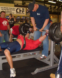 does your raw bench get weaker when you bench in a shirt?