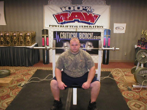 Teenage Powerlifter Cody Yager
