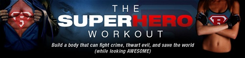 John and Matt's Super Hero Workout