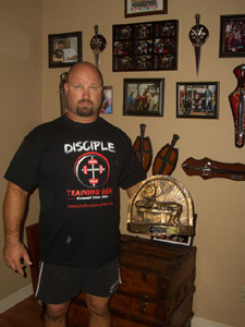 Tom's Wall of Fame - Powerlifting Trophies and Pictures