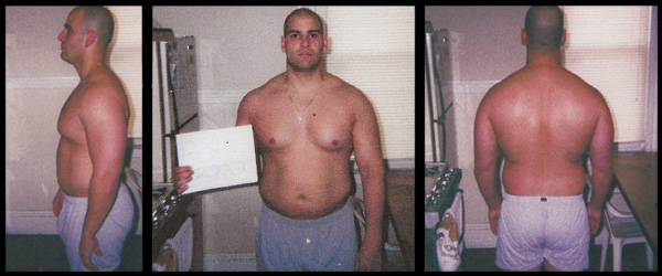 Ardolino does the Ripped Fat Loss Program - Before Pics