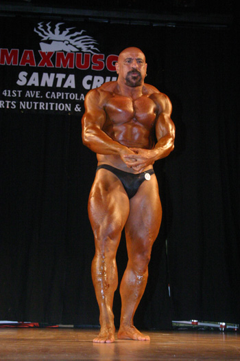 Rob Carbo Bodybuilding Stage
